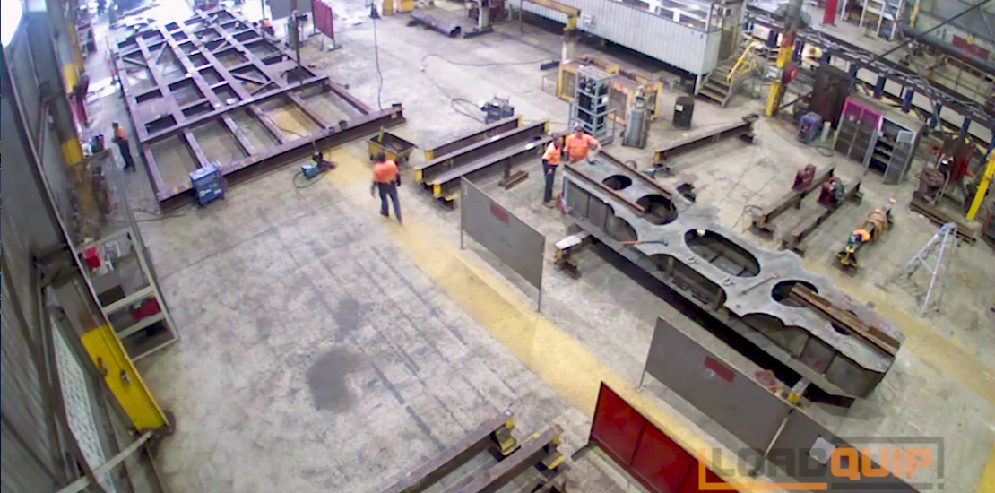 Timelapse of a 150 tin low lader being assembled in Brisbane.